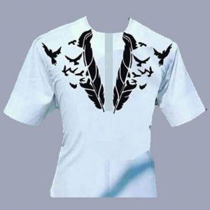 Elegant Native Attire (White)