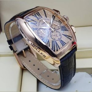 Franck Muller Leather Bracelet Watch