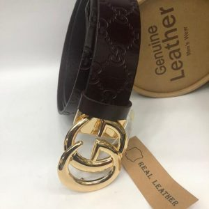 Gucci Genuine Leather Belt