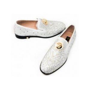Versace Medusa Cream Shoe