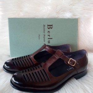 Berlutti Brown Sandal