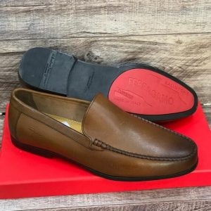 Brown Salvatore Ferragamo Loafers