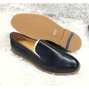 Bugatchi Leather Black Shoe