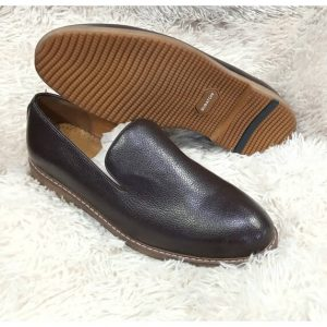 Bugatchi Leather Brown Shoe