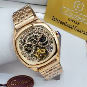 Cartier Bracelet Watch Gold