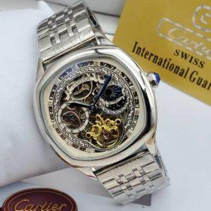 Cartier Bracelet Watch Silver
