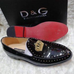 Dolce & Gabbana Patent Shoe