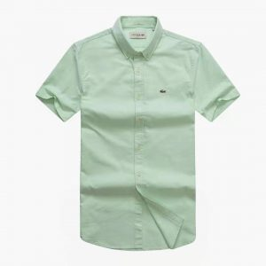 Lacoste Shirt Lemon Green Short Sleeve