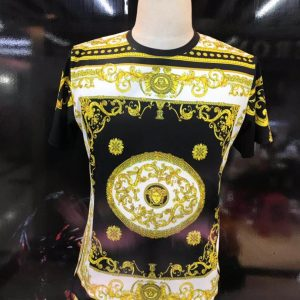 Versace Multipatterened Tshirt
