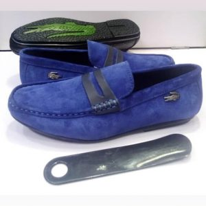 Lacoste Nubuck Loafers Blue