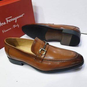 Salvatore Ferragamo Shoe Brown