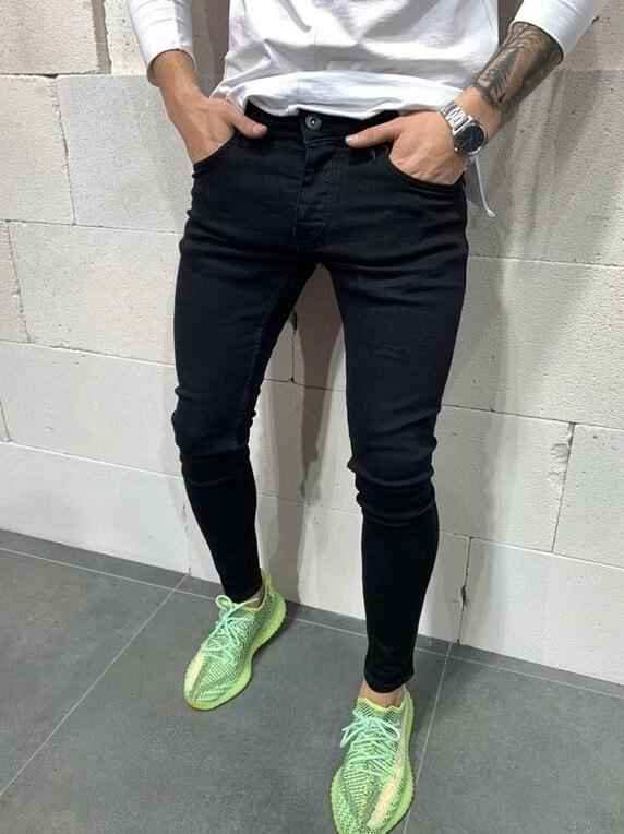 Stylish Jeans - Black