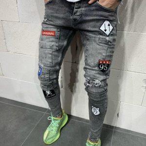 Stylish Men's Jeans – Grey