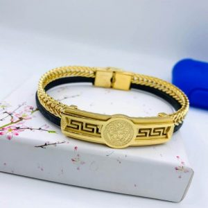Versace Yellow Gold Bracelet