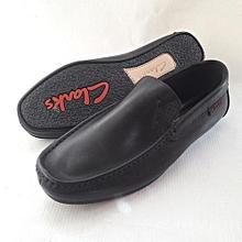 Clarks Loafers Shoe – Plain Black