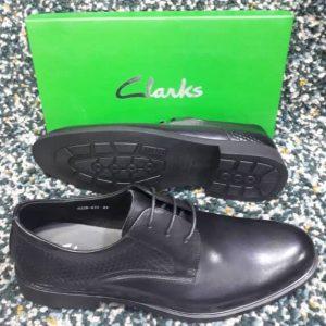 Clarks Lace Up Shoe Black