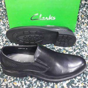 Clarks Easy On Shoe Black