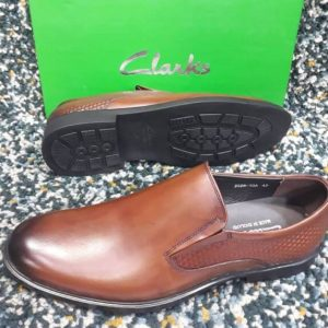 Clarks Easy On Shoe Brown