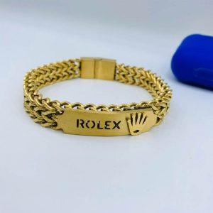 Rolex Yellow Gold Metal Bracelet