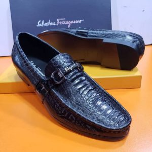 Salvatore Ferragamo Loafers Black