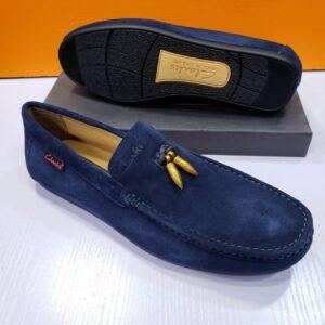 Clarks Loafers Shoe Blue