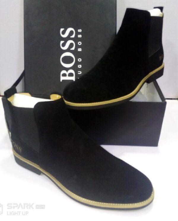 Hugo Boss Ankle Boot Black 3
