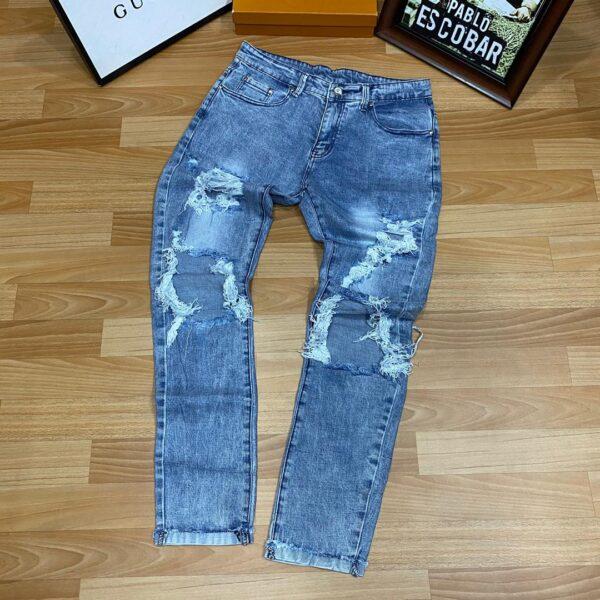Slight Rugged Jeans Blue 3