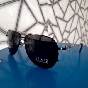 Mercedez-Benz Silver Frame Polarized Sunglasses