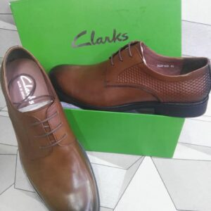 Clarks Lace Up Shoe Brown