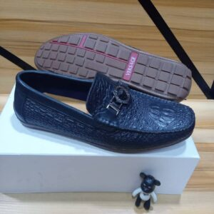 Versace Shoe Loafers Blue