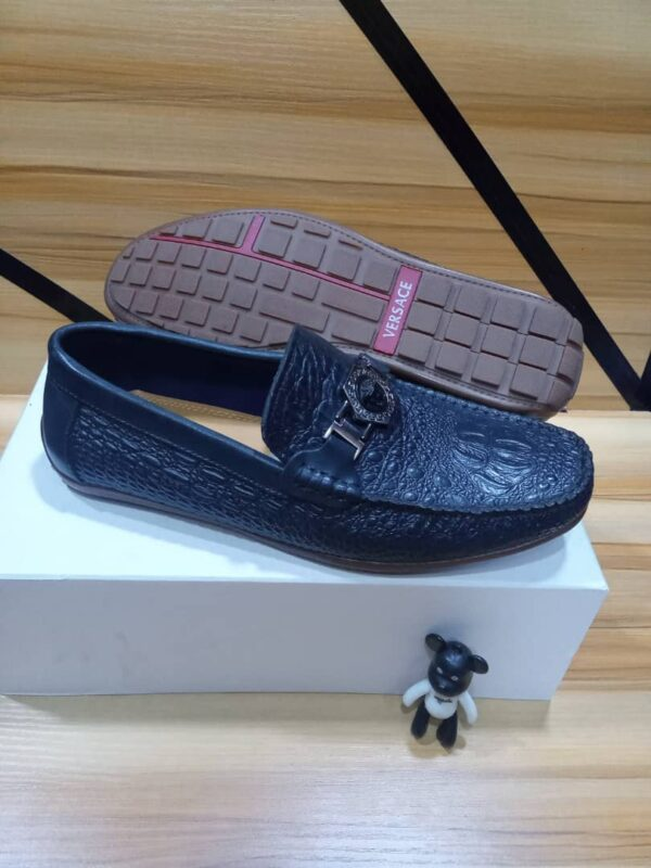 Versace Shoe Loafers Blue 3
