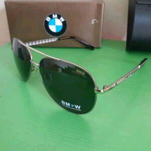 BMW Polarised Sunglasses Silver