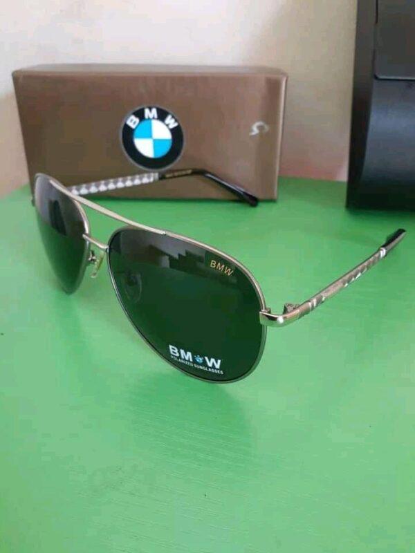 BMW Polarised Sunglasses Silver 3