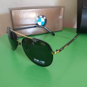 BMW Polarised Sunglasses Gold