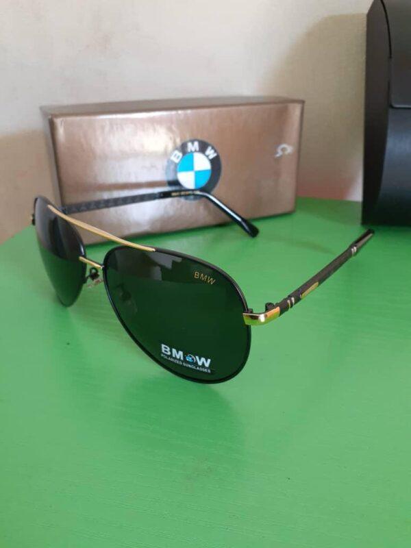 BMW Polarised Sunglasses Gold 3