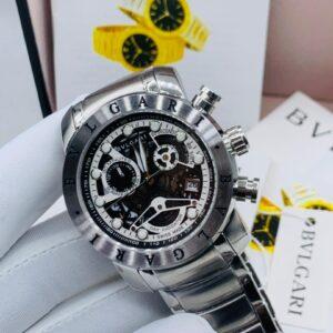 Bvlgari Silver Bracelet Watch