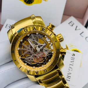 Bvlgari Gold Bracelet Watch