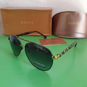 Gucci Polarised Sunglasses Gold