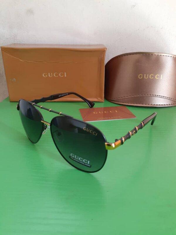 Gucci Polarised Sunglasses Gold 3