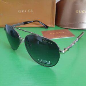 Gucci Polarised Sunglasses Silver