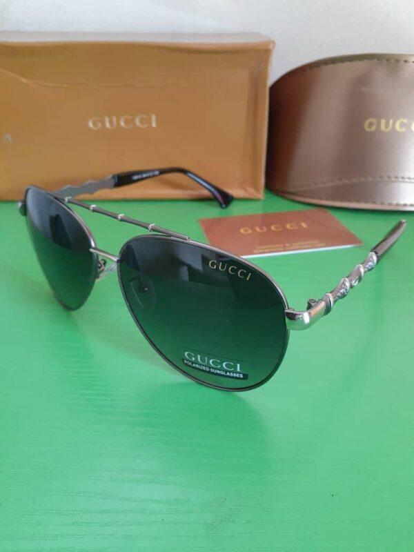Gucci Polarised Sunglasses Silver 3