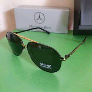 Mercedez Benz Polarised Sunglasses Gold