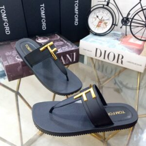 Tomford Slippers Black