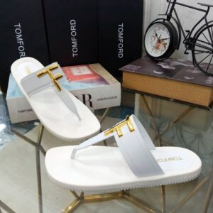 Tomford Slippers White
