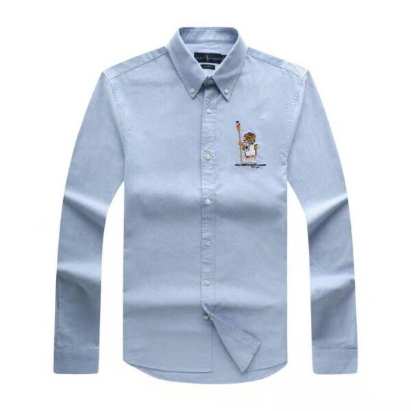 Polo Ralph Lauren Plain Shirt Sky Blue 3