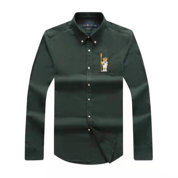Polo Ralph Lauren Plain Shirt Green 3