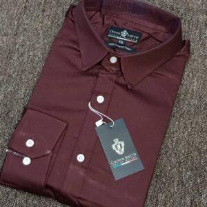 Crown Smith Wine Longsleeve Shirt