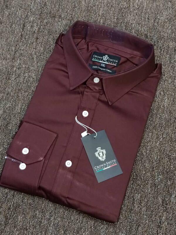 Crown Smith Wine Longsleeve Shirt 3 crown smith